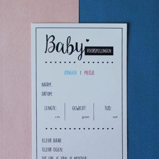 hebbers-baby-voorspellingskaarten