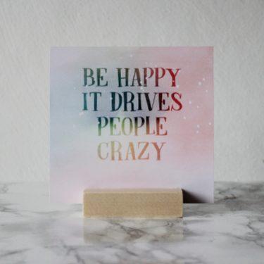 Happy quote kaarten set Hebbers