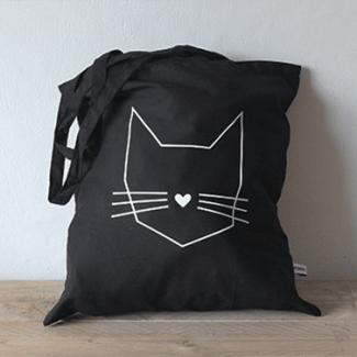 tas kat zwart Hebbers