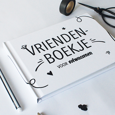 Hebbers vriendenboekje volwassenen