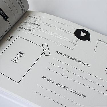 Hebbers vriendenboekje voor volwassenen