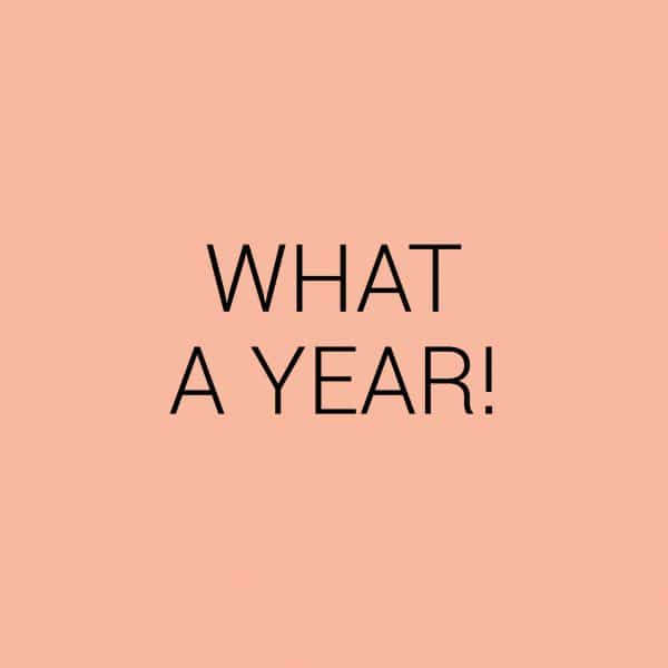 What a year! Terugblikken op 2018