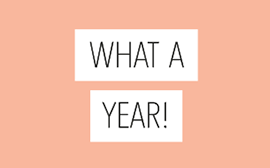 What a year – 2018