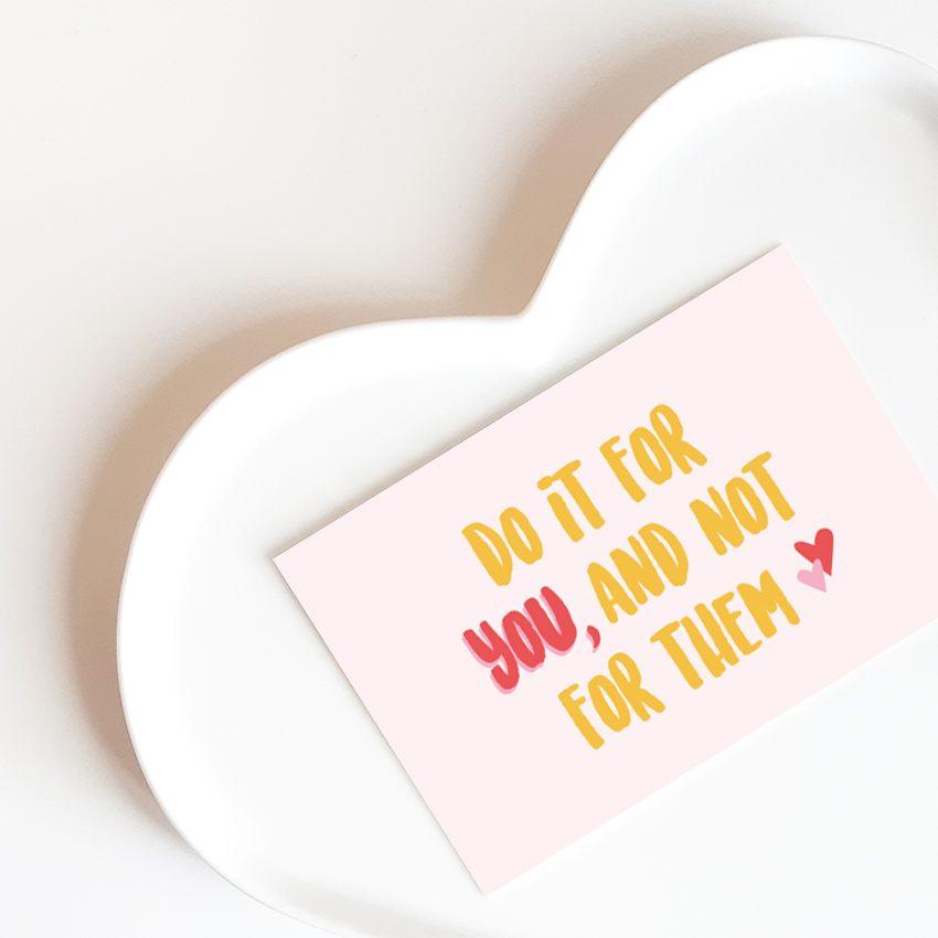 Mini kaart Do it for You Stralen Hebbers