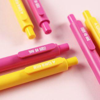 Pennenset roze en geel Stralen Hebbers