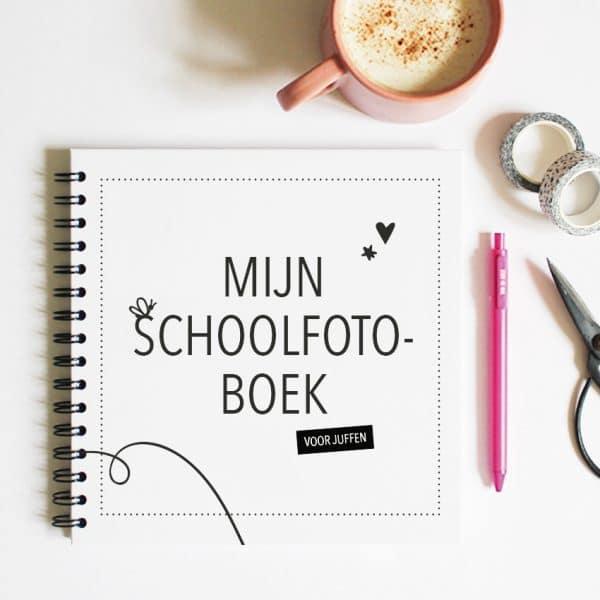 Het schoolfotoboek voor juffen