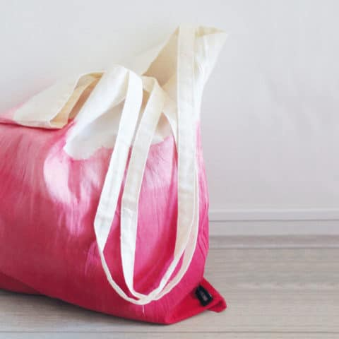 Een tas met ombre effect maken