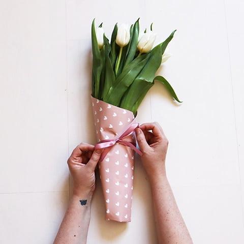 Pak je bos bloemen leuk in voor Moederdag