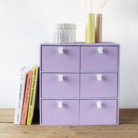 Je IKEA kastje pimpen: een kleurtje en knopjes!