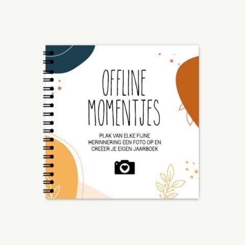 2020 samengevat in mijn offline momenten boekje