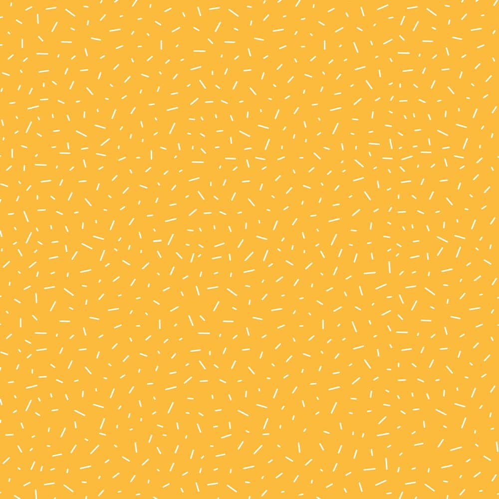 Inpakpapier inpakvel confetti geel Hebbers
